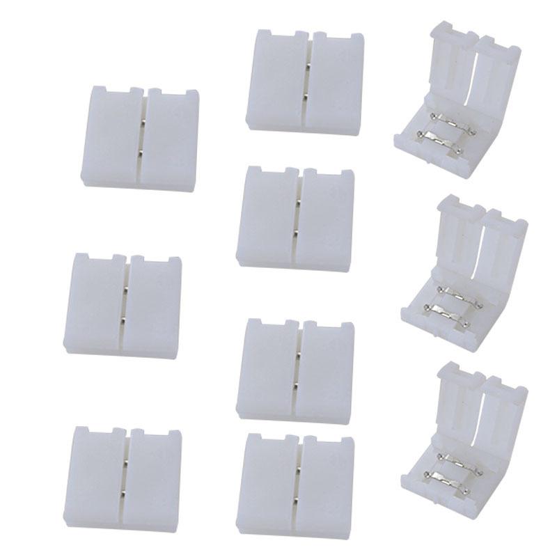 Cầu đấu dây Domino Đèn 8MM với thiết bị đầu cuối dây không hàn 3528 2 chiến đấu nhanh 2835 thiết bị
