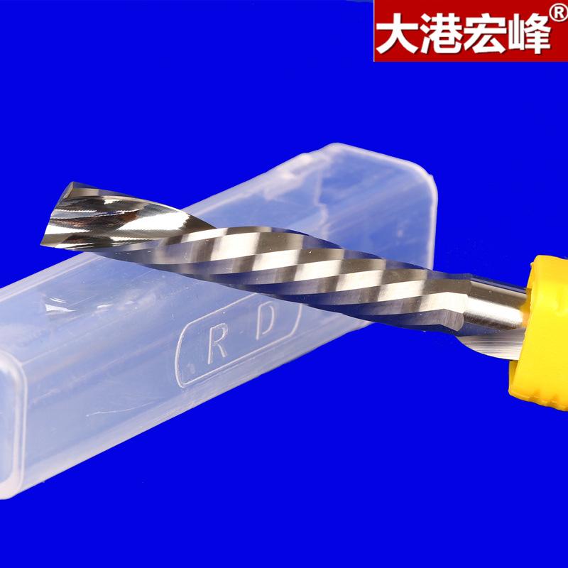 DGHF Dao phay Lớp 3A Đánh bóng vật liệu Đức Máy phay xoắn ốc CNC thuận tay trái không đủ khả năng lo