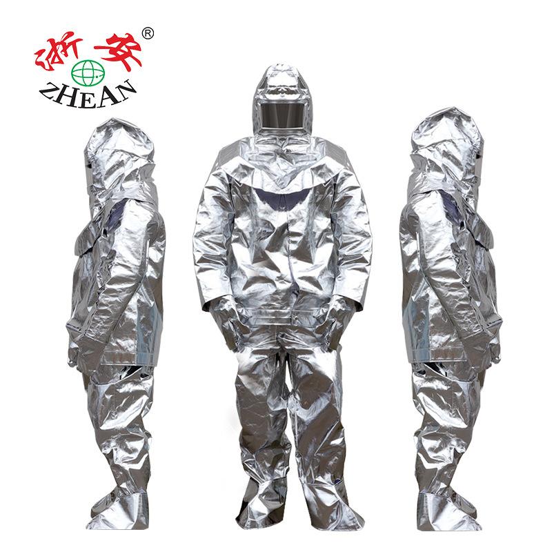 Trang phục bảo hộ Quần áo cách nhiệt Zhe'an 1000 độ 500 độ chịu nhiệt độ cao chống cháy bức xạ chốn