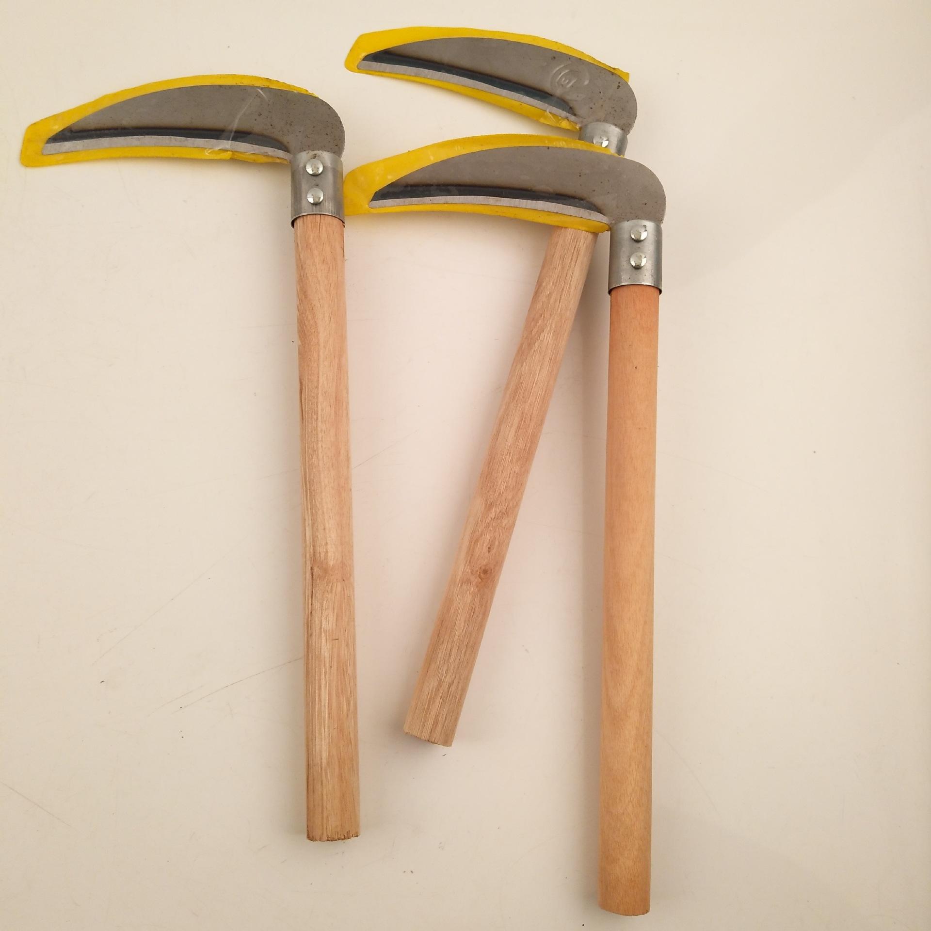 Dụng cụ nông nghiệp Xử lý liềm vườn rau Công cụ thu hoạch liềm Phần cứng nông nghiệp