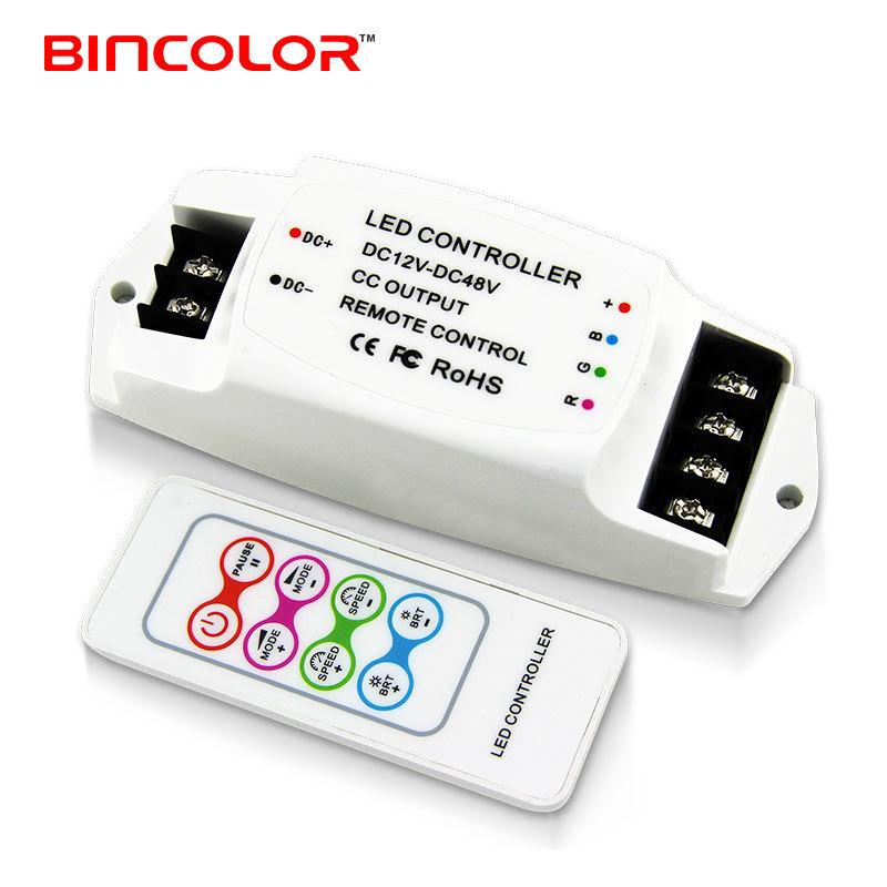 BINCAI Thiết bị điều khiển đèn Bộ điều khiển đèn hiện tại không đổi BC-361-CC RGB, bộ điều khiển led