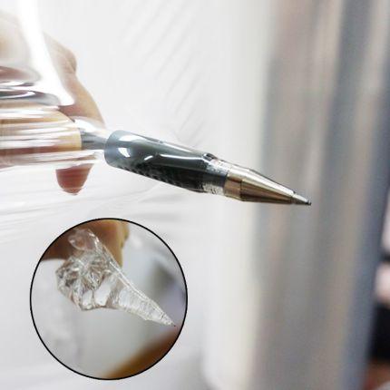 UTSUWA  Màng bao bì  PE căng phim kéo dài 50 cm hộp quà tặng bao bì nhựa cảm ứng bao bì màng trong s