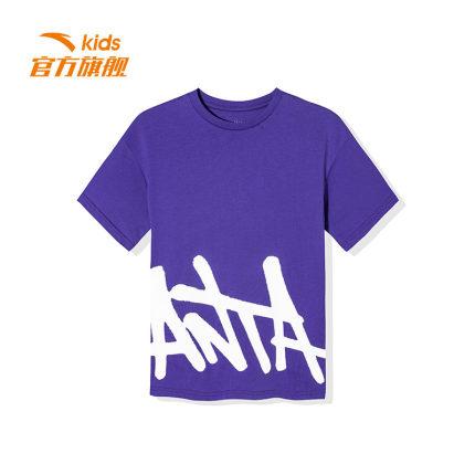 Anta  Trang phục trẻ em mùa hè  Áo thun ngắn tay Anta Children