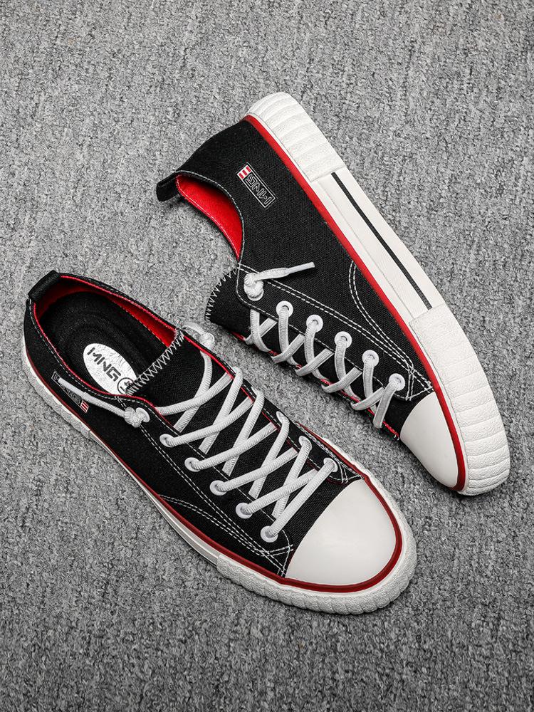 MINGGETANG Giày Sneaker / Giày trượt ván 2020 giày vải mới cho nam mùa xuân Phiên bản Hàn Quốc của x
