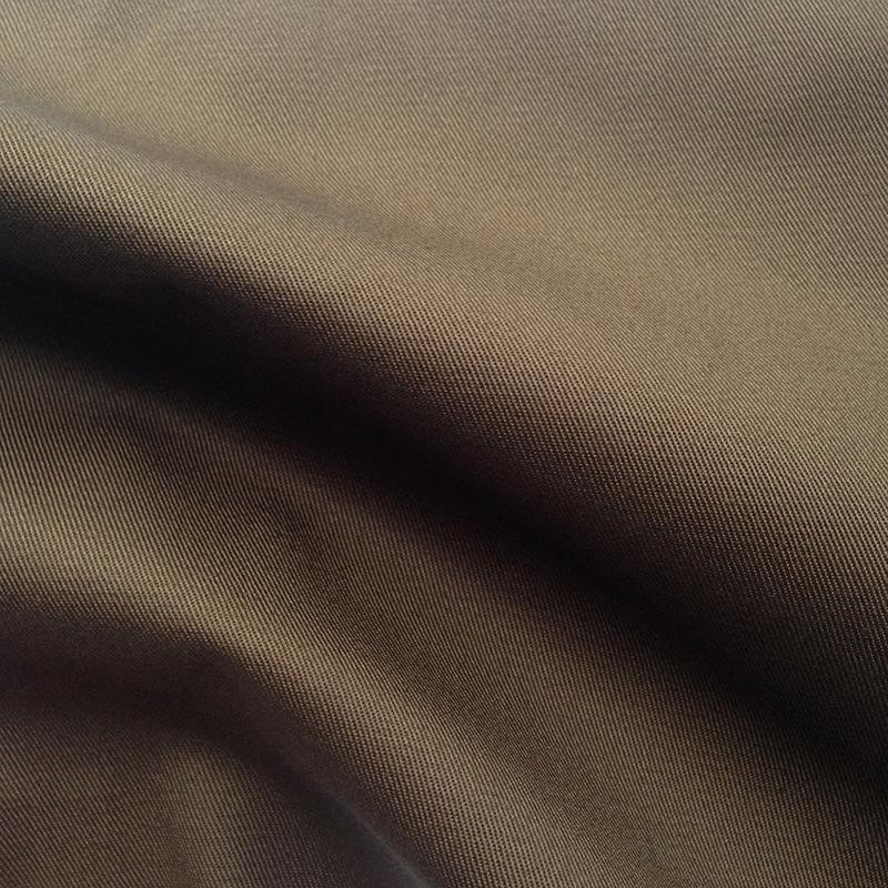 V ải Twill Spot Full Process Cotton Twill Card 20 * 16/128 * 60 Quần áo bảo hộ lao động Đồng phục Qu
