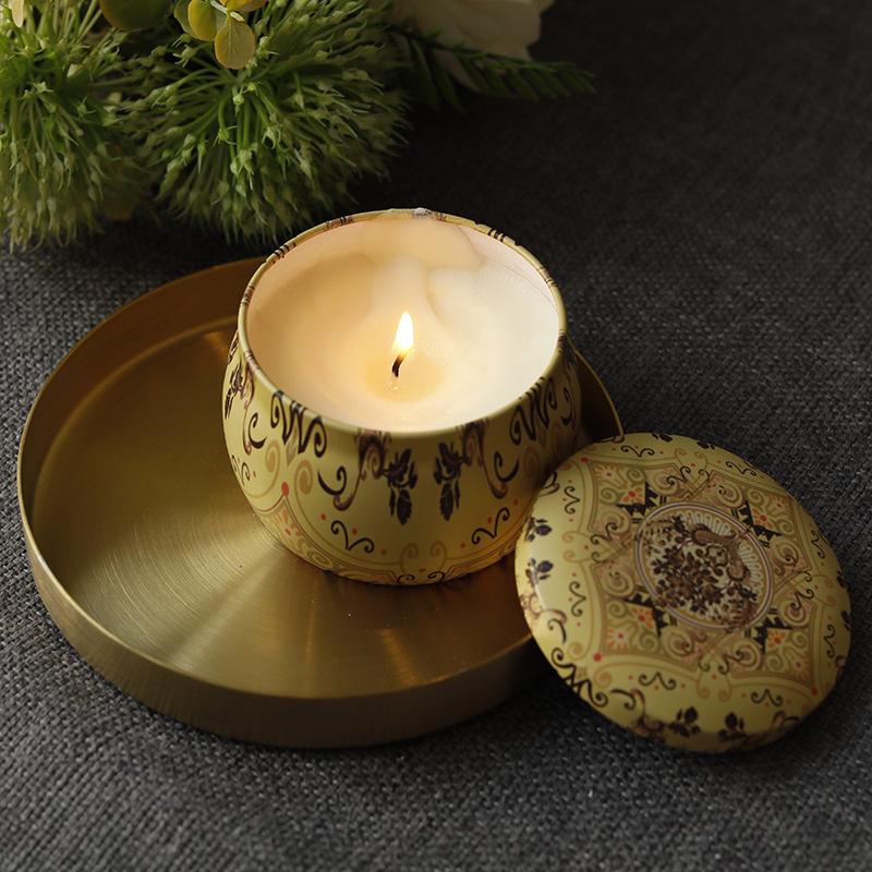 NLSX Nến Bắc Âu không khói tin tưởng nến thơm phòng ngủ không khí sạch mùi tinh dầu tay quà tặng sin