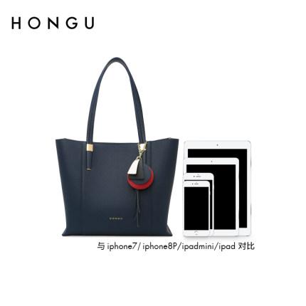 Honggu Túi xách du lịch  Túi đeo chéo nữ Honggu Túi đeo vai chính hãng Công suất lớn Nữ mùa thu Mùa
