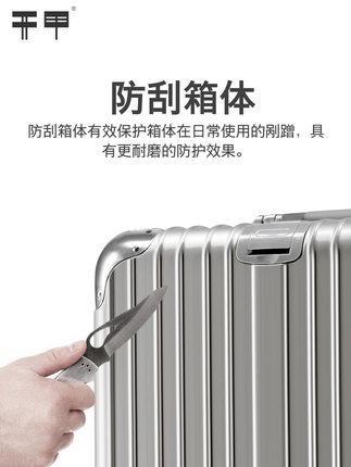 VaLi hành lý  Hành lý xe đẩy vali nữ vali nam phổ quát 24 sinh viên Hàn Quốc 26 hành lý 20 mật khẩu