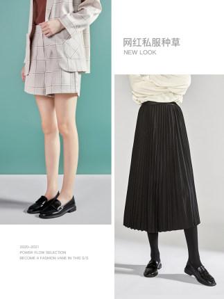 Giày da một lớp  Giày da nhỏ Zhuo Shini nữ mùa xuân 2020 của Anh Giày đơn mới phiên bản Hàn Quốc của