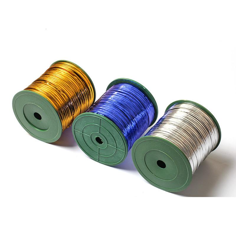 Dây kim loại màu tie dây tie dây tie dây tie dây tie dây thực phẩm bao bì túi niêm phong dây vàng