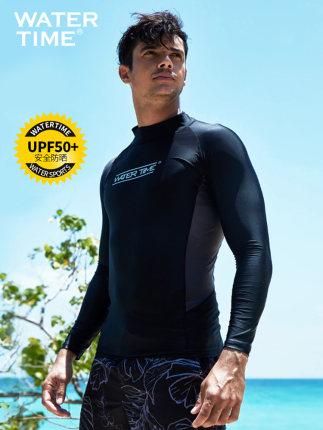 WATERTIME Đồ chống nắng mau khô  Bộ đồ lặn nam bơi sứa hàng đầu phù hợp với ống thở phù hợp với tay