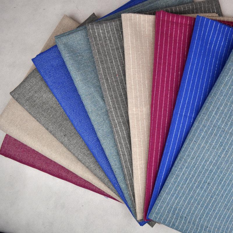 JINYUAN Vải Cotton pha Nguồn Nhà sản xuất Cotton Cotton Vải Polyester Cotton Linen Blend Sợi nhuộm v