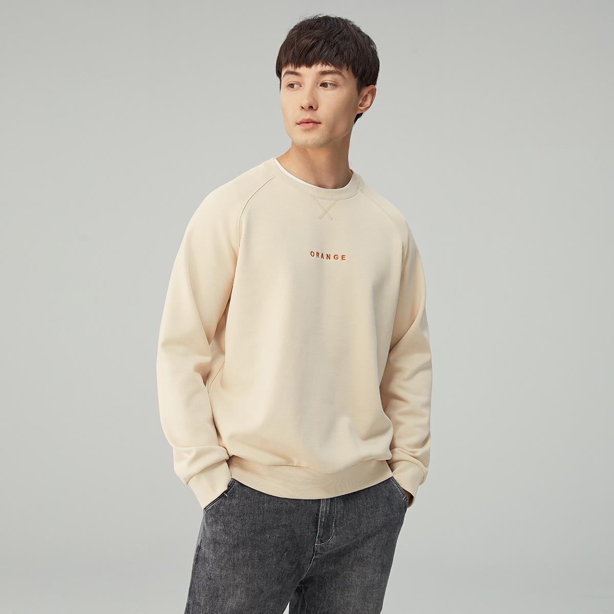 M-MAICCO Sweater (Áo nỉ chui đầu) Mùa xuân 2020 hợp thời trang áo len thêu nam thanh niên lỏng lẻo á