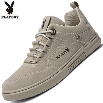 Playboy  thị trường giày nam Giày nam Playboy mùa xuân thủy triều 2020 Giày da mới xu hướng giày nam