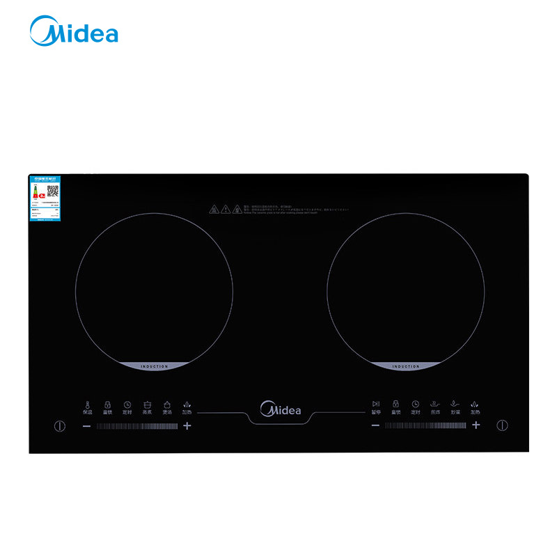 Midea Bếp từ, Bếp hồng ngoại, Bếp ga / C2-2ST3304 Bếp điện từ nhúng gia dụng Pin thông minh Bếp đôi