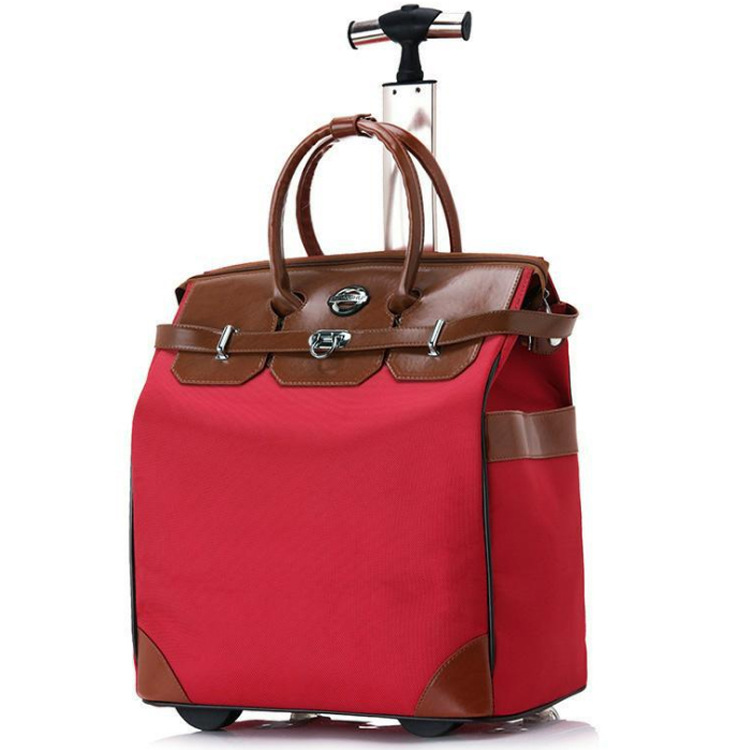 BAWANGHU thị trường túi - Vali Túi hành lý 20 inch Nhẹ không thấm nước Túi xách tay đơn Túi du lịch