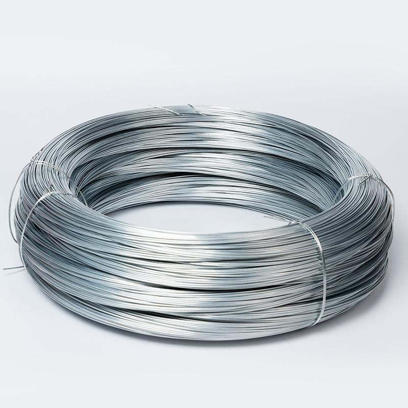Dây kim loại Nhà máy trực tiếp mạ kẽm dây thép xây dựng trang web nhà máy chuyên dụng dây cáp dây nh