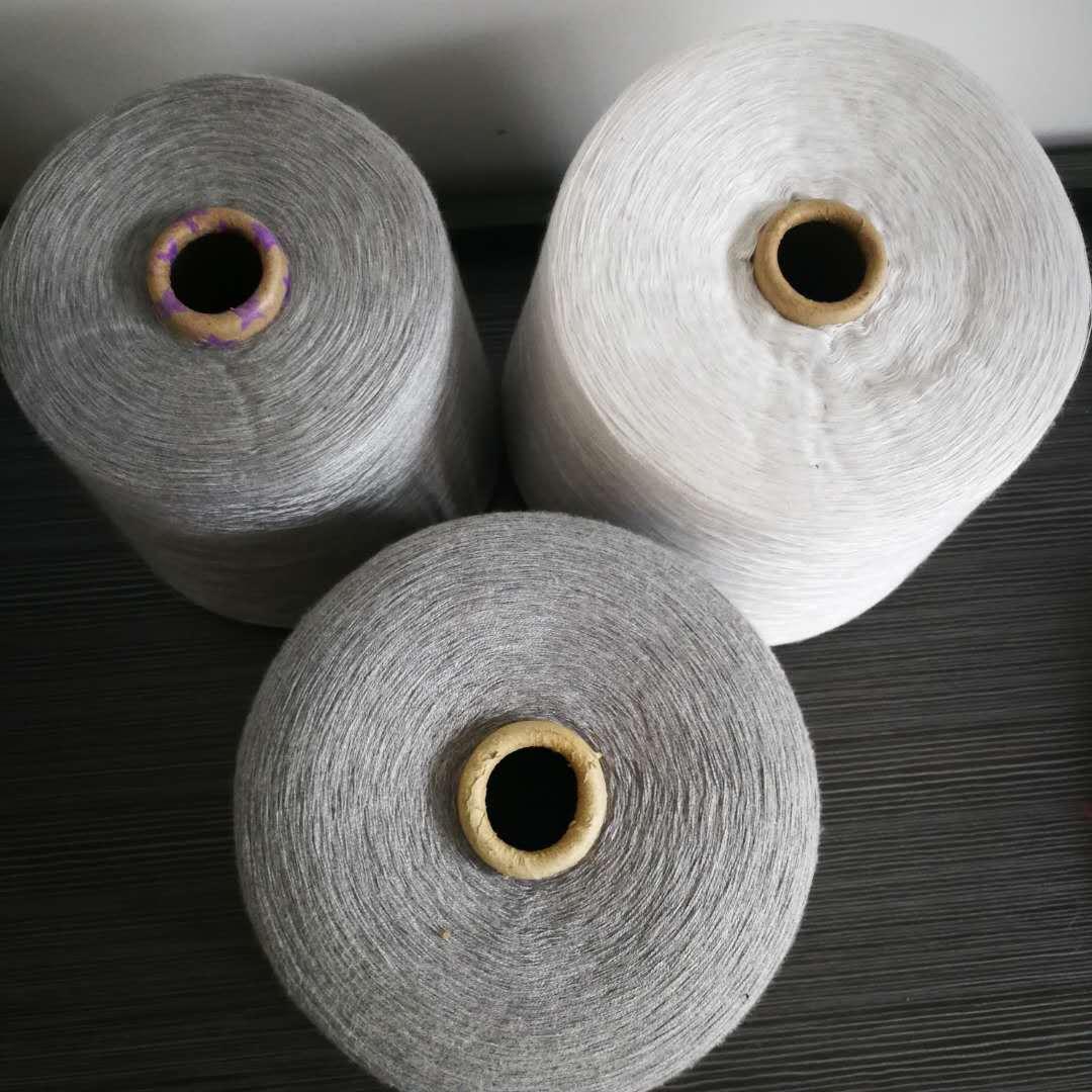 BAOTAI Sợi hoá học Các nhà sản xuất năm 2018 cung cấp rất nhiều sợi polyester màu xám nguyên chất 10