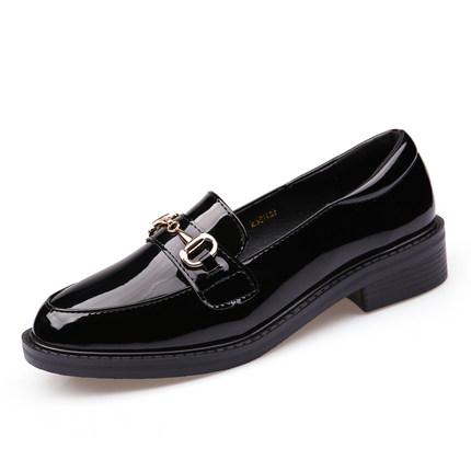 Giày mọi Gommino [Da] Giày da nhỏ nữ Giày đế xuồng mùa xuân mới của Anh 2020 Giày đậu Hà Lan Giày ca