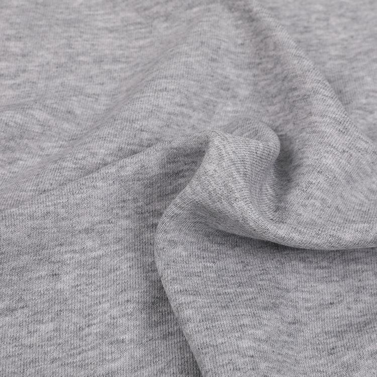 Vải dệt kim Áo len cotton dệt kim vải 21S vảy cá vải terry xuân hè thu đông áo len thời trang vải