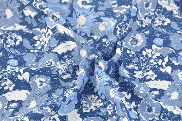 KMFT Vải Chiffon & Printing Cotton in vải, cotton căng sợi in thẻ, quần thời trang và vải váy, in vả
