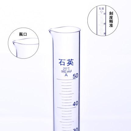 purshee  Dung cụ quang học Máy phân tích quang học thạch anh purshee đo xi lanh 5-500ml dụng cụ phòn
