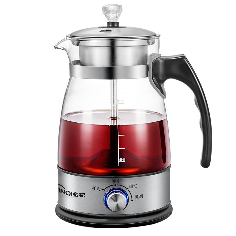 Jinqi Nồi lẩu điện, đa năng, bếp và vỉ nướng Máy pha trà đen Jinqi Máy pha trà tự động hoàn toàn bằn