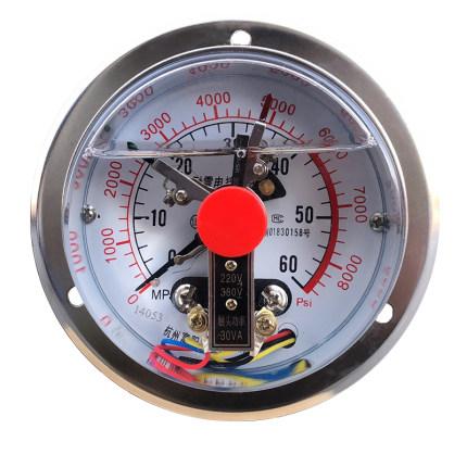 BONDHUS  Đồng hồ đo áp suất  Đồng hồ đo áp suất tiếp xúc dọc trục Máy đo áp suất tiếp xúc điện YNXC-