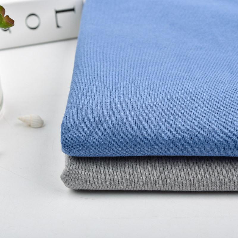 KANGYIN Vải French Terry (Vấy cá) Nhà máy dệt kim trực tiếp Áo lông cừu Áo len dày Vải Terry