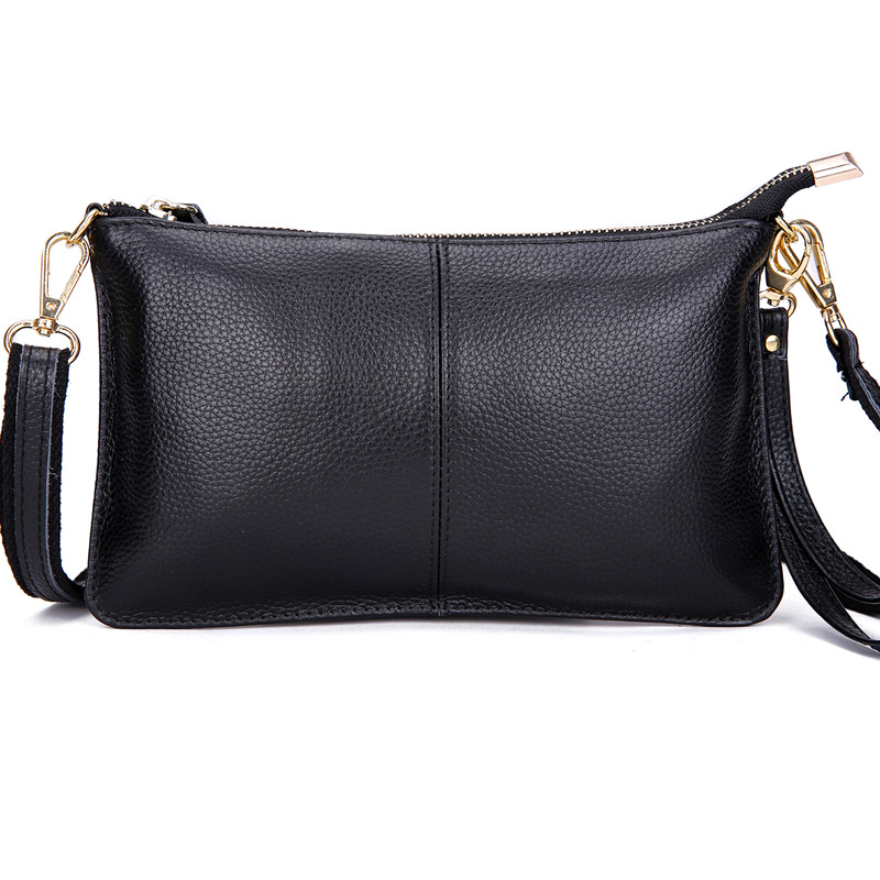 Túi xách nữ thời trang Giá xuất xưởng đầy đủ lớp da bò nữ messenger túi ly hợp túi ăn tối túi nhỏ gi