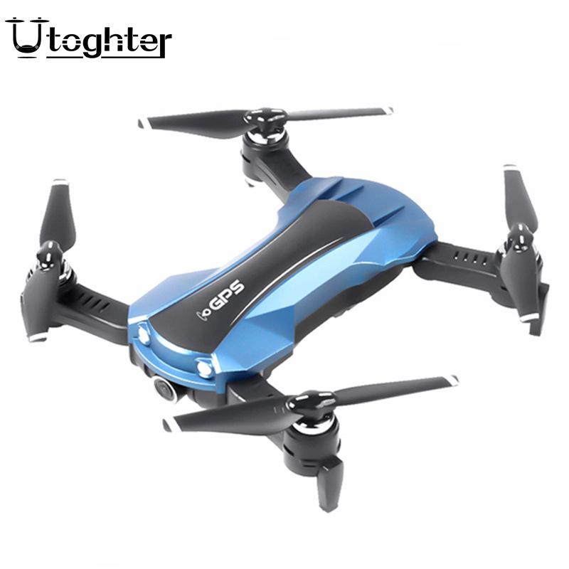 Máy bay Flycam điều khiển từ xa Máy ảnh kép GPS gập Utoghter5G ESC