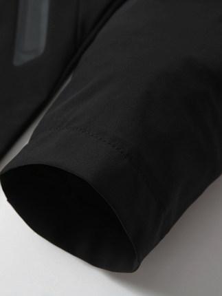 Đồ chống nắng mau khô  Mùa hè thể thao và giải trí hai mảnh phù hợp với nam áo thun lụa lỏng quần ch