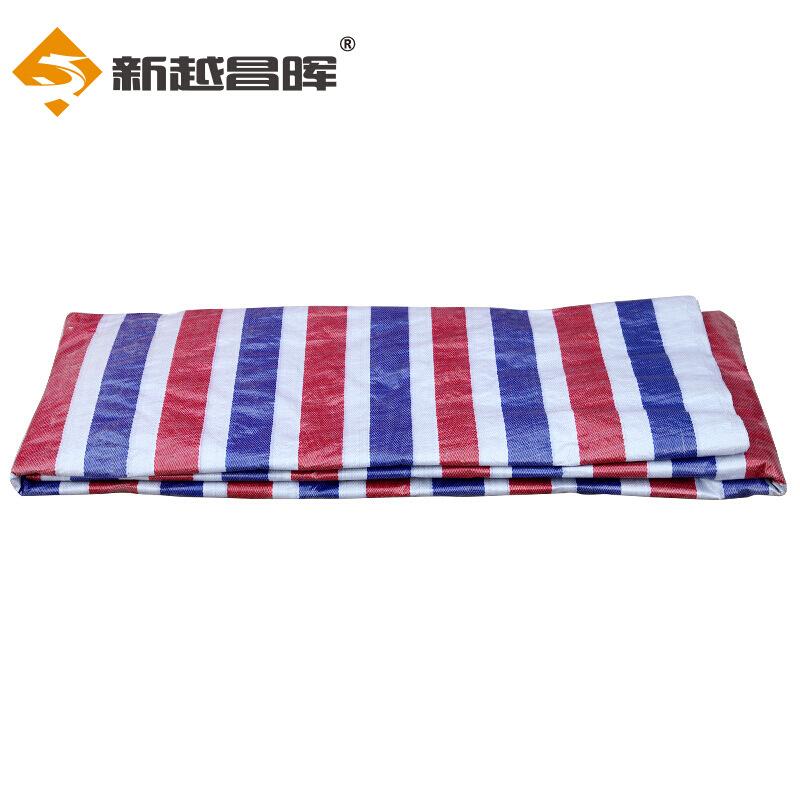 Bạt nhựa Xinyue Changhui Dải màu Vải Vải không thấm nước Nhựa Canopy Kem chống nắng Vải chống gió 4m