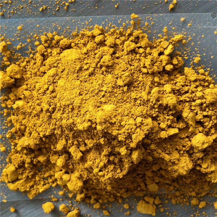 YUKAI Bột màu vô cơ Cung cấp sắc tố sắt oxit màu vàng, gạch màu gạch lát sàn, chất phủ oxit sắt tiêu