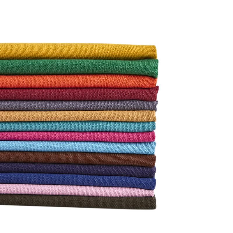YUANLAN Vải dệt may Vải nhuộm cotton 12A Polyester (12oz) Vải dệt mùa thu / đông đồng bằng vải 2019