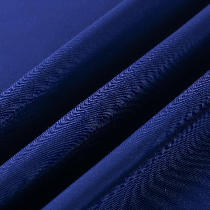 ZHECHU V ải bố Mới lửa mùa đông đào tạo ngọn lửa polyester vải cotton màu xanh vải công sở đồng phục