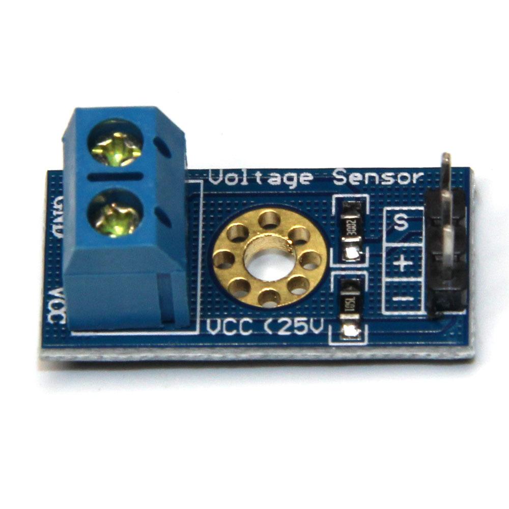 WEMS Linh kiện điện tử Module phát hiện điện áp 0,02-25V cảm biến điện áp khối xây dựng linh kiện đi