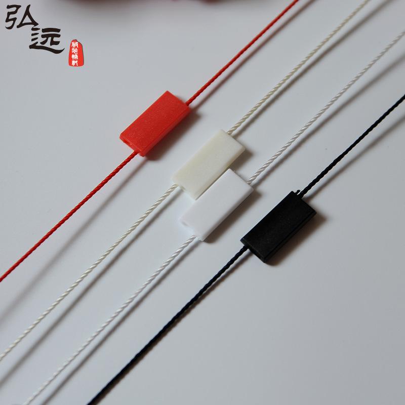 Chuỗi tag , Tag logo Nhiều màu giá thấp trống đôi cắm hạt treo quần áo phổ bảng ánh sáng dây buộc th