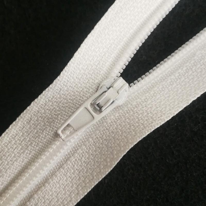 SL Dây kéo Nylon Đóng túi quần có khóa kéo nylon số 3 kín