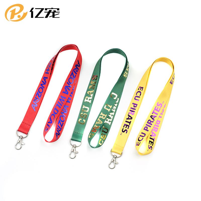 YC dây đeo Thư đầy màu sắc dây phim triển lãm công việc tài liệu dây buộc huy hiệu huy hiệu dây buộc