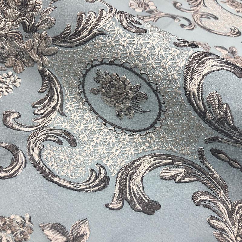 JINXIANGYANG Vải Yarn dyed / Vải thun có hoa văn Nhà máy trực tiếp công nghiệp nặng thêu jacquard re