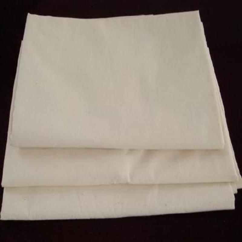 BAOSHENG Vải mộc pha Polyester Cotton Blend Twill Plain Grey Vải 108 * 56 Túi xách Túi Túi Vải Vải X