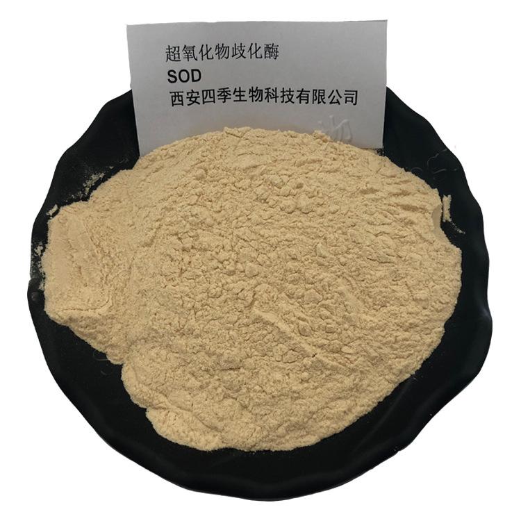 Ôxít Superoxide effutase SOD nhà sản xuất bột ban đầu cung cấp 5000 đơn vị hoạt động