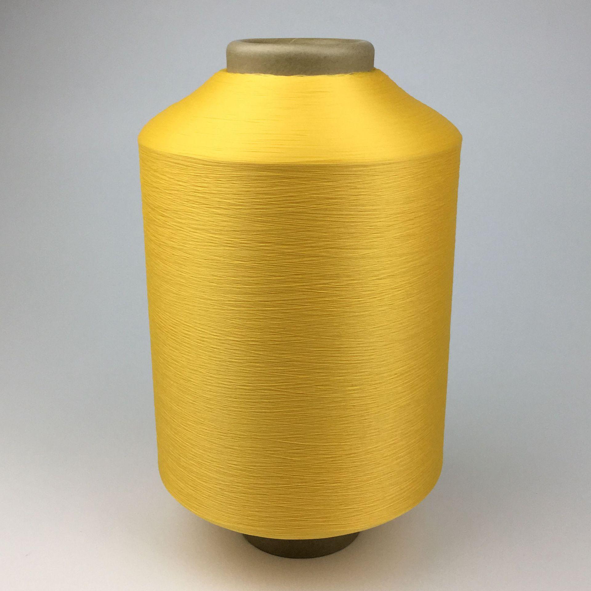 CQ TEXTECH Sợi hoá học Nhà sản xuất sợi màu 75d sợi polyester đàn hồi thấp sợi 36f sợi polyester màu