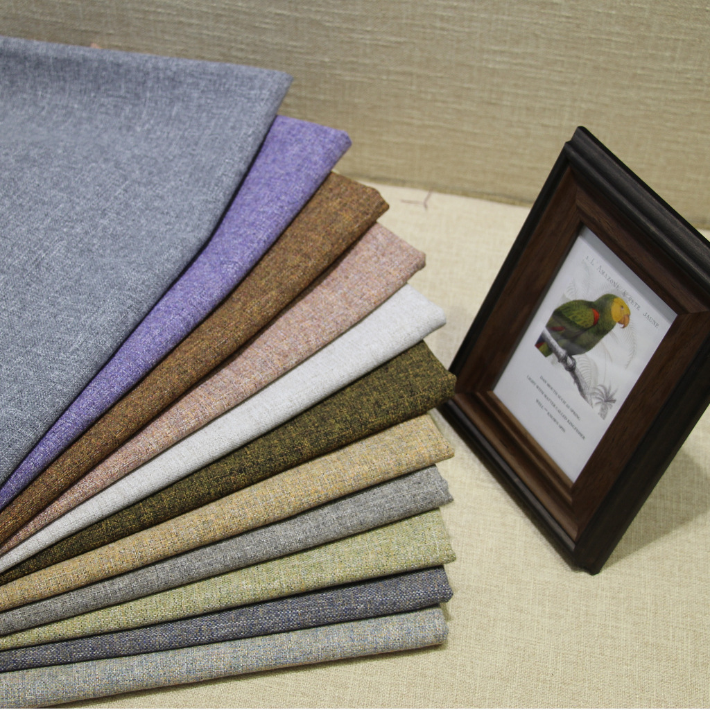SHENGJIEDA Vải cotton pha polyester Mới polyester-cotton pha trộn cát màu tinh khiết phát hành sợi g