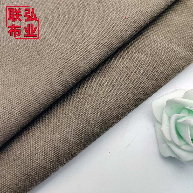 LIANHONG V ải bố Cotton 20A Giặt Canvas 4 * 4 Túi giặt Giày Chất liệu Cotton Vải Thêm Dày Giặt Canva