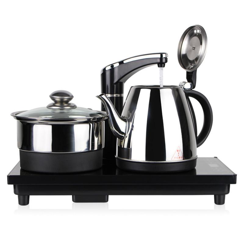 MCXZ Nồi lẩu điện, đa năng, bếp và vỉ nướng Bếp điện đặt bộ ấm trà thiết bị nước tự động ấm đun nước