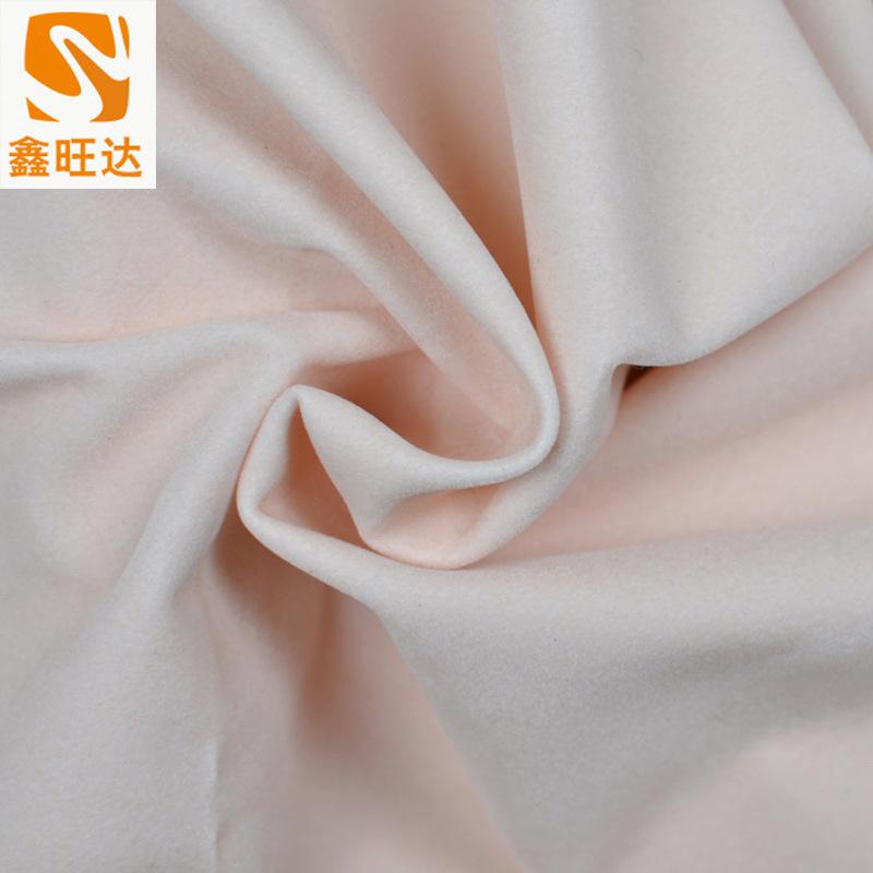 XINWANGDA Vải dệt kim Nhà máy Giải phóng mặt bằng Vải dệt kim Sang trọng nhiều màu Flocked Túi Flock