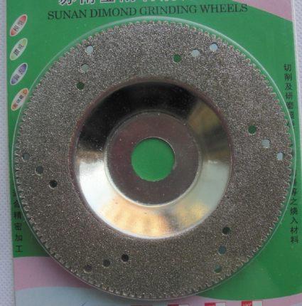 BONDHUS  Công cụ kim cương công nghiệp Sunan Diamond mài tấm mài kim cương hình bát thủy tinh đánh b
