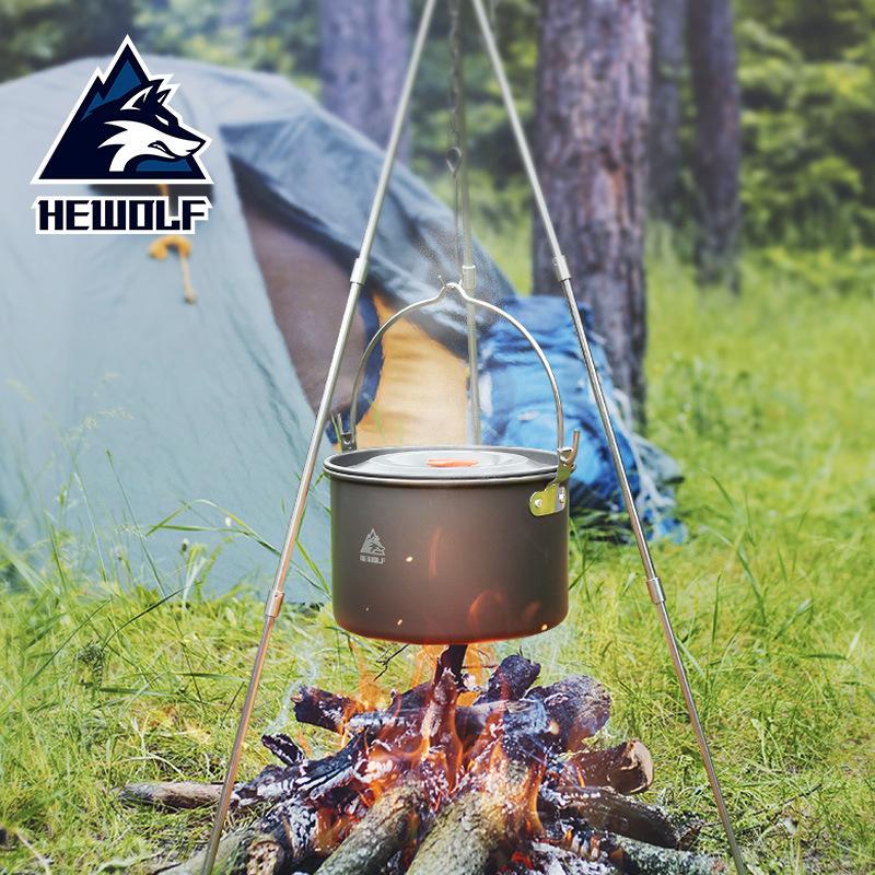 Nồi treo nấu nướng ngoài trời dành cho cắm trại .